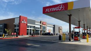 A Flying J travel center