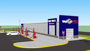 GetGo chain's WetGo PRO car wash