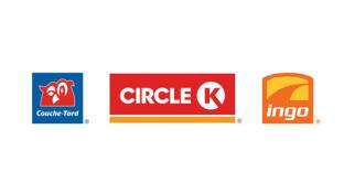 Logos for Alimentation Couche-Tard retail network