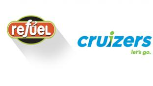 Logos for Refuel and Cruizers