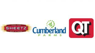 Logos for Sheetz Inc., Cumberland Farms and QuikTrip Corp.