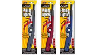 New Scripto Folding Lighter Colors