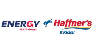 Logos for Energy North Group and Haffner's