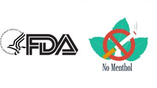 The FDA logo and menthol ban