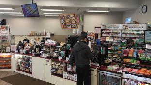 Inside the Stewart's Shops in Ballston Spa, N.Y.