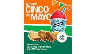7-Eleven Cinco de Mayo deals