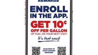 GPM's fas REWARDS loyalty app
