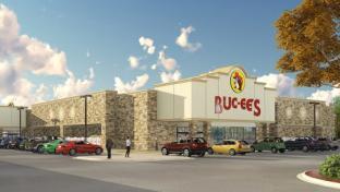 A rendering of Buc-ee's Crossville