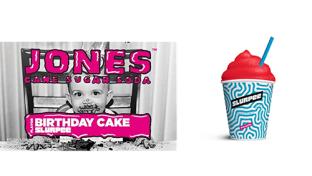 Jones Soda Birthday Cake Slurpee