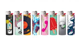 BIC Special Edition Nostalgia Series Lighters