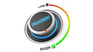 levels of engagement from low to high