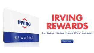 fuels irving oil unveils new features of rewards program - Irving Rewards Card