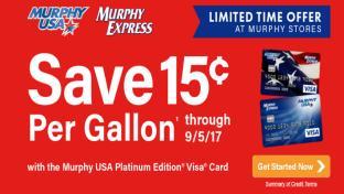 fuels - Murphy Visa Card